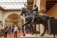 Moscou, Rússia - 21 de novembro de 2018: O museu de Pushkin de belas artes é o museu o maior da arte europeia em Moscou, Rússia fotos de stock