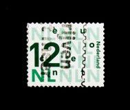 MOSCOU, RÚSSIA - 24 DE NOVEMBRO DE 2017: Um selo impresso em Netherlan Foto de Stock
