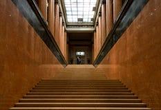 Moscou, Rússia - 29 de outubro de 2015: Museu de Pushkin Fotos de Stock Royalty Free