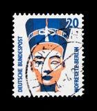 MOSCOU, RÚSSIA - 21 DE OUTUBRO DE 2017: Um selo impresso no alemão Fed foto de stock royalty free