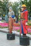 Moscou, Rússia, 08-18-2018 Festival histórico das épocas e das épocas fotos de stock royalty free