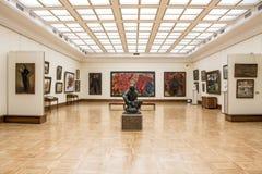 MOSCOU, RÚSSIA, a galeria de Tretyakov do estado fotos de stock