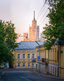 Moscou, Rússia, Kolpachny por Fotografia de Stock Royalty Free