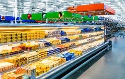 Moscou, Rússia - MERCADO 29: Shopping Lenta no MERCADO 29, 201 Imagens de Stock