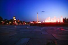 MOSCOU, RÚSSIA, o 11 de agosto de 2014, museu central de Fotos de Stock Royalty Free