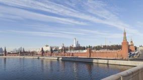 Moscou, remblai de Kremlin photos stock