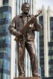 MOSCOU, RUSSIA/SEPTEMBER 20,2017 : Monument au concepteur Mikhail Kalashnikov, le créateur du fusil d'assaut de kalachnikov photographie stock libre de droits