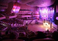 MOSCOU, RUSSIE - 10 OCTOBRE : Concert de la musique d'organe Photographie stock libre de droits