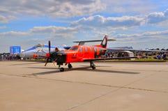 MOSCOU, RUSSIE - AOÛT 2015 : les avions M-101T de classe d'affaires presen Photos libres de droits