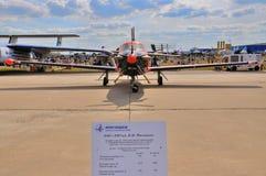 MOSCOU, RUSSIE - AOÛT 2015 : les avions M-101T de classe d'affaires presen Images stock