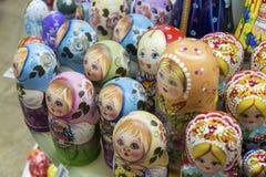 Moscou, Russie - 10 janvier 2015 matryoshka - Image stock