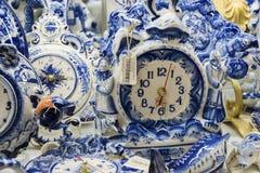 Moscou, Russie - 10 janvier 2015 vaisselle en céramique Photographie stock libre de droits