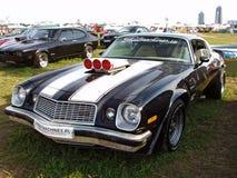 MOSCOU, RUSSIE - 15 juillet 2008 : ` 2008 d'Autoexotic de ` d'exposition de voiture de muscle de Chevrolet Images libres de droits