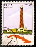MOSCOU, RUSSIE - 15 JUILLET 2017 : Un timbre imprimé au Cuba montre la PA Photos stock