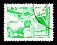 MOSCOU, RUSSIE - 15 JUILLET 2017 : Un timbre imprimé au Cuba montre le Su Photographie stock