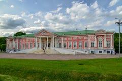 Moscou, Russie - 6 juin 2016 Palais de compte Sheremetev dans le domaine Kuskovo image libre de droits