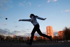 MOSCOU, RUSSIE - 13 MAI : Championnat de progressif de Bocce le 13 mai 2017 dans le stade d'Iskra, Moscou, Russie Images stock