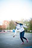MOSCOU, RUSSIE - 13 MAI : Championnat de progressif de Bocce le 13 mai 2017 dans le stade d'Iskra, Moscou, Russie Photographie stock