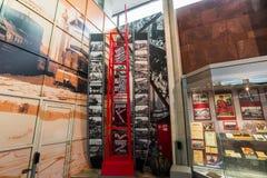 MOSCOU, RUSSIE - 11 mars 2017 Musées du chemin de fer de Moscou Photo libre de droits