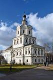 Moscou, Russie Monastère d'Andronikov Murs et tours Photographie stock libre de droits