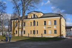 Moscou, Russie Monastère d'Andronikov Murs et tours Photo stock
