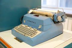 Moscou, Russie - 20 novembre 2013 : Consul Typewriter par Zbrojovka Brno, Tch?coslovaquie qui a commenc? ? fabriquer photos libres de droits