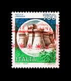 MOSCOU, RUSSIE - 24 NOVEMBRE 2017 : Un timbre imprimé dans le sho de l'Italie images libres de droits