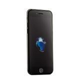 MOSCOU, RUSSIE - 22 OCTOBRE 2016 : Le nouvel iPhone noir 7 est un futé Photographie stock