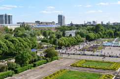 MOSCOU, RUSSIE - 26 06 2015 Parc de Gorki - central Images stock