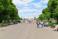 MOSCOU, RUSSIE - 26 06 2015 Parc de Gorki - central Image libre de droits