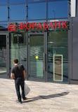 Moscou, Russie - peuvent 07 2018 Forabank - banque sur la rue de Bolshaya Semyonovskaya Image stock