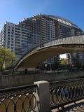 Moscou, Russie - peuvent 07 2018 Voûte solaire complexe résidentielle d'élite - Arco di Sole Photos stock