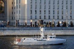 MOSCOU, RUSSIE, rivière de Moscou Photos stock