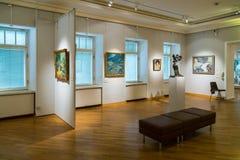 Moscou, Russie - 14 septembre 2015 : Musée de Pushkin des beaux-arts Images stock