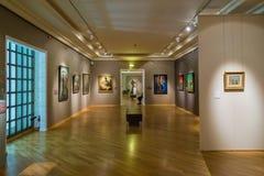 Moscou, Russie - 14 septembre 2015 : Musée de Pushkin des beaux-arts Image libre de droits