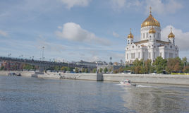 Moscou, Russie - septembre 06,2016 : Sauveur de temple du Christ Photo stock