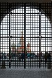 MOSCOU, RUSSIE - 30 septembre, 20018 : Vue sur la place rouge thr photographie stock libre de droits