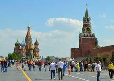 Moscou, Russie, ville, 2018, megapolis, Poutine, la place rouge, images stock