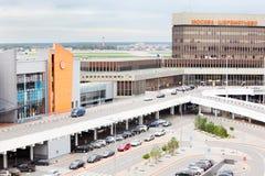 Se garer dans l'aéroport de Sheremetyevo Images stock