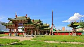 Moscou - Ulaanbaatar - Pékin 2016 photo libre de droits