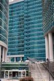 Moscou-ville Capitale de tour Le centre des affaires en Russie Transactions financières de conduite MOSCOU RUSSIE Photos stock