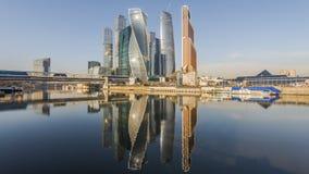 Moscou-Ville de centre d'affaires Photographie stock