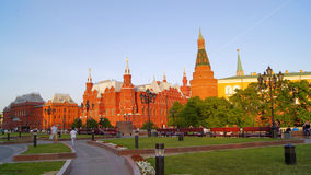 Moscov, park, Moskou het Kremlin royalty-vrije stock afbeeldingen