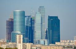 Moscovo-Cidade Fotos de Stock Royalty Free