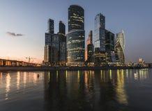 Moscovo-Cidade do centro de negócios Imagem de Stock