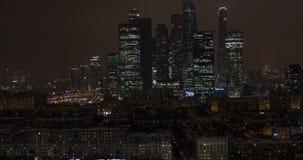 Moscovo-cidade, Rússia E Vista aérea 4K filme