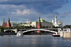 Moscovo Kremlin Fotos de Stock