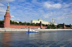 A Moscovo Kremlin. Fotografia de Stock