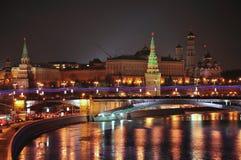 A Moscovo Kremlin. Imagens de Stock