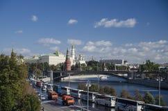 A Moscovo Kremlin Fotos de Stock Royalty Free